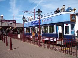 The Frydays tram at Seaton Tramway